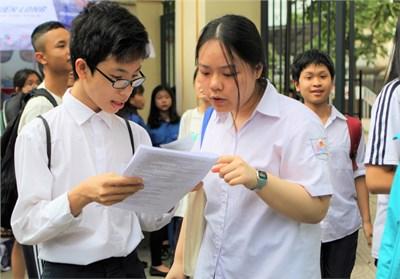 Hà Nội tuyển sinh lớp 10 không chuyên năm học 2020-2021 theo hình thức thi tuyển ba môn: Văn, Toán, Tiếng Anh dự kiến vào ngày 17+18/7/2020