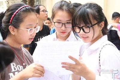 Thời gian tuyển sinh vào lớp 1 và lớp 6 ở Hà Nội.