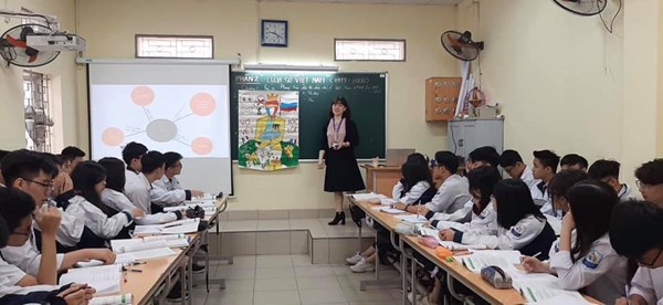 Tiết dạy của cô giáo Trịnh Thị Thu Huyền - GV Lịch sử