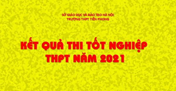 Kết quả thi Tốt nghiệp THPT năm 2021